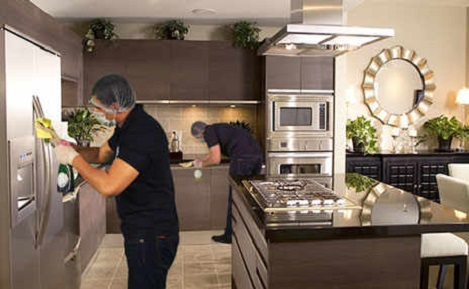 Cmmercial kitchen cleaning